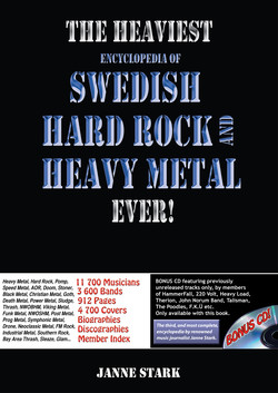 The Heaviest Enc. of Swedish Hardrock and Heavy Metal Ever -  Pressinfo