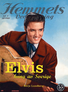 Elvis - Kung av Sverige (Soft cover)