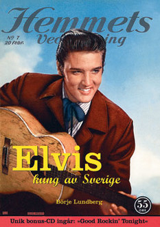 Elvis - Kung av Sverige (Hard cover)