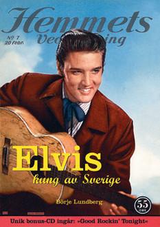 Elvis - Kung av Sverige (Hårdband)