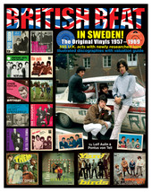 BRITISH BEAT IN SWEDEN – The original vinyls 1957-1969.